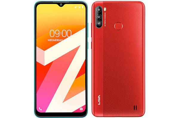 Lava Z6 in red