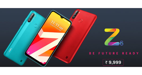 Lava Z6 launched