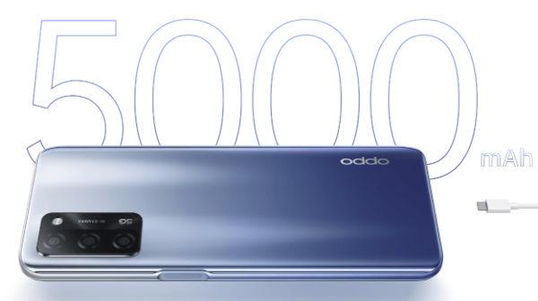 OPPO A55 5G battery