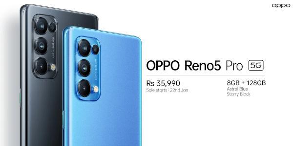 Oppo Reno5 5G pricing in India 1