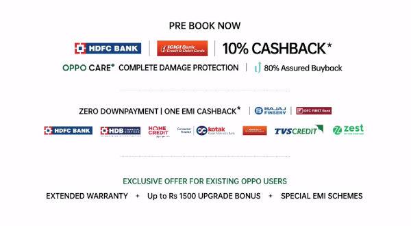 Oppo Reno5 5G pricing in India