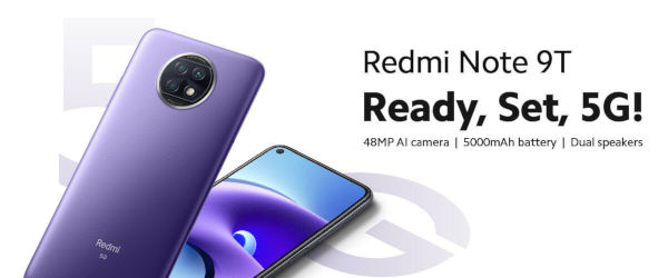 Redmi Note 9T launched
