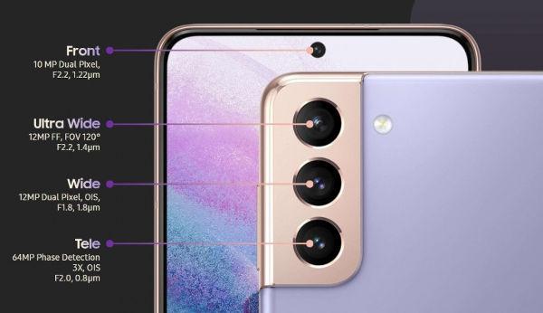 Samsung Galaxy S21 Camera