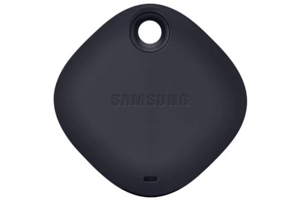 Samsung Galaxy Tag in black rear