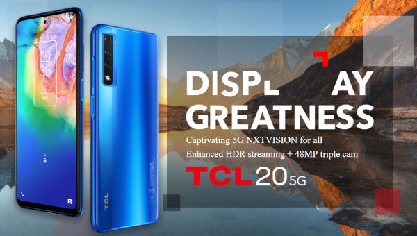 TCL 20 5G launched