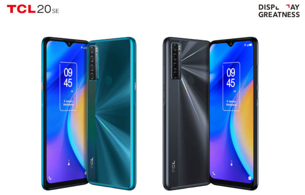 TCL 20 SE in colors