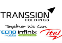 Transsion Holding Parent company of Tecno Infinix and itel