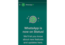 WhatsApp is Officially Now on User Status Update