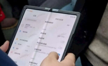 Xiaomi First Foldable Smartphone With Big Screen Appears In Real Life