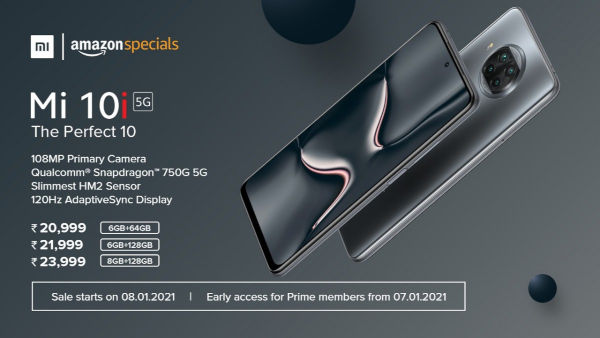 Xiaomi Mi 10i 5G price in Amazon India