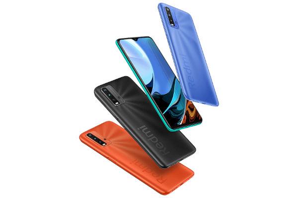 Xiaomi Redmi 9T in colors
