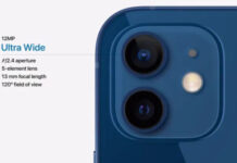 iPhone 12 mini camera details