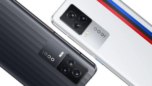 iQOO 7 Price in colors