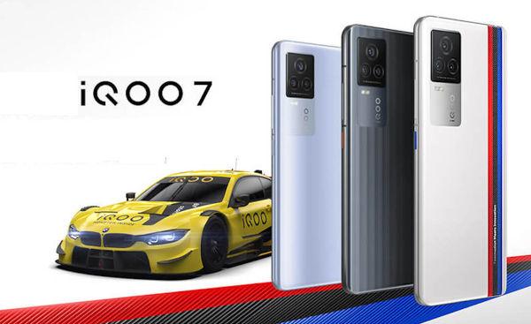iQOO 7 launched