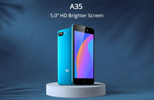 itel A35 launched