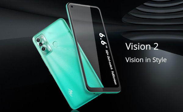 itel Vision 2 launched