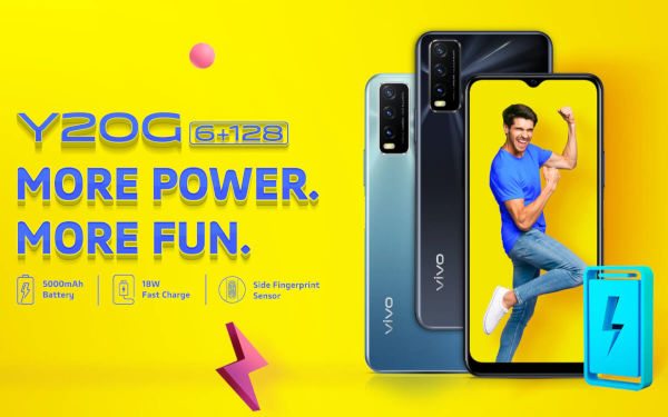vivo Y20G launched