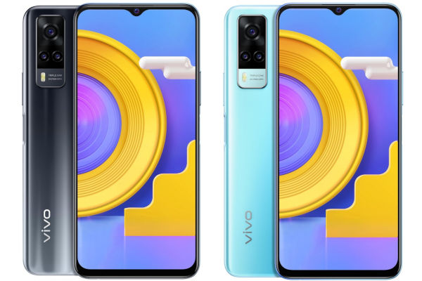 vivo Y31 2021 in colors