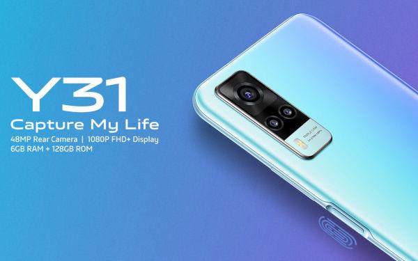 vivo Y31 launched
