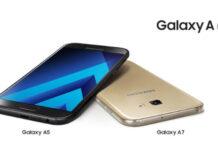 2017 Galaxy A series