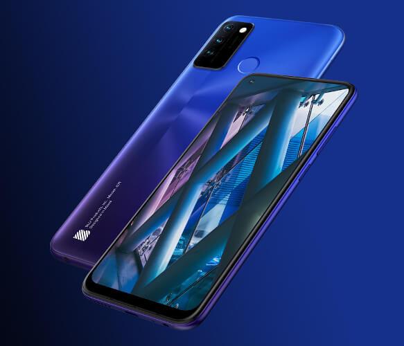 BLU G71 in Blue