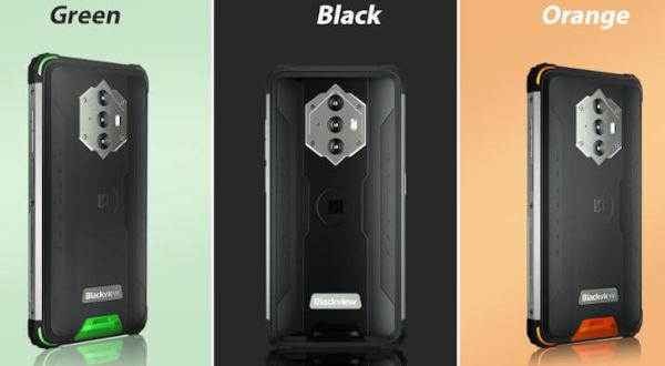 Blackview BV6600 in colors