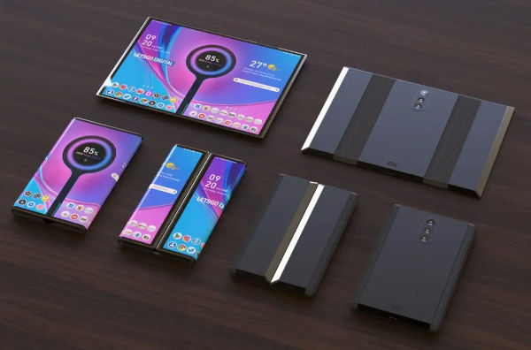 Foldable Xiaomi phone in making