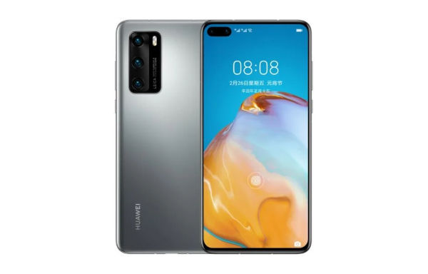 Huawei P40 4G Frost Silver
