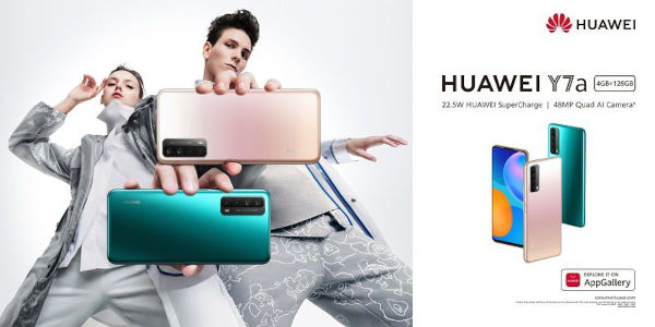 Huawei Y7a launched In Nigeria Ghana and Kenya