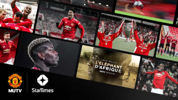 Manchester United partners With Startimes