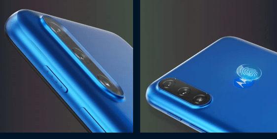 Motorola Moto E7 Power design