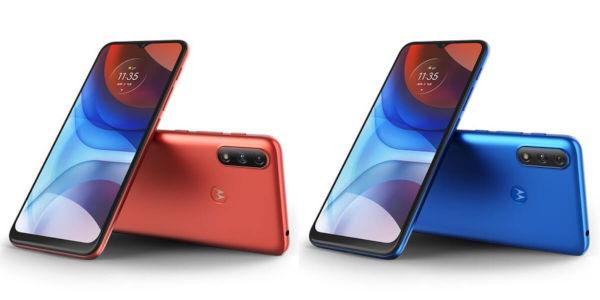 Motorola Moto E7 Power in colors