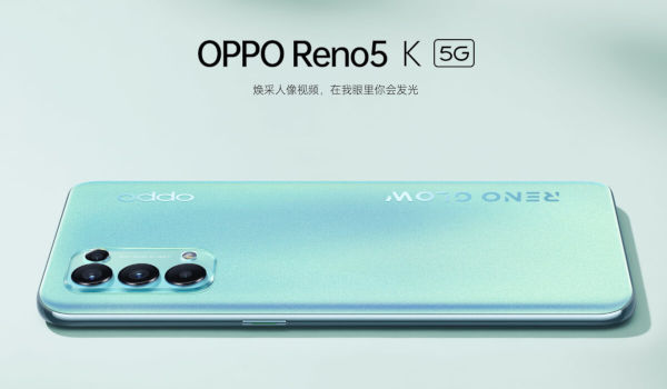 Oppo Reno5 K launched