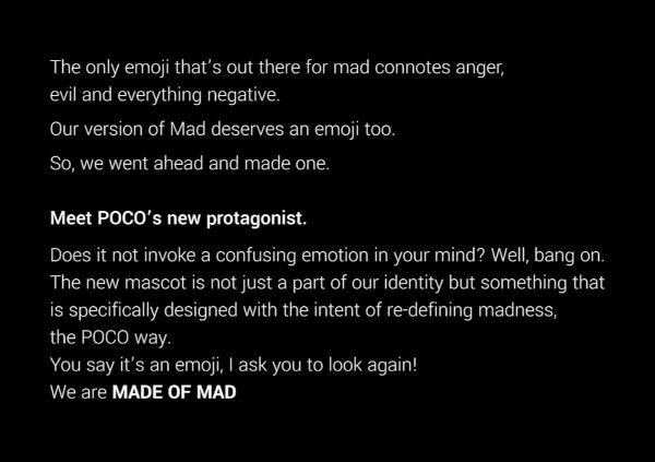 Poco India New brand Logo And Mascot explained