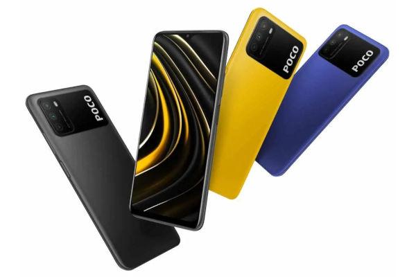 Poco M3 in colors
