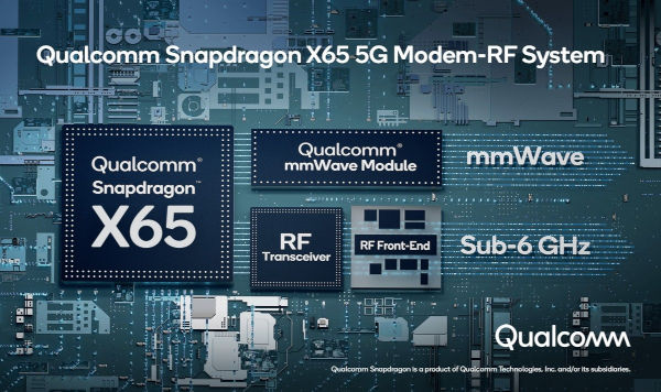 Qualcomm Snapdragon X65 debuts the world first 10 Gbps 5G modem