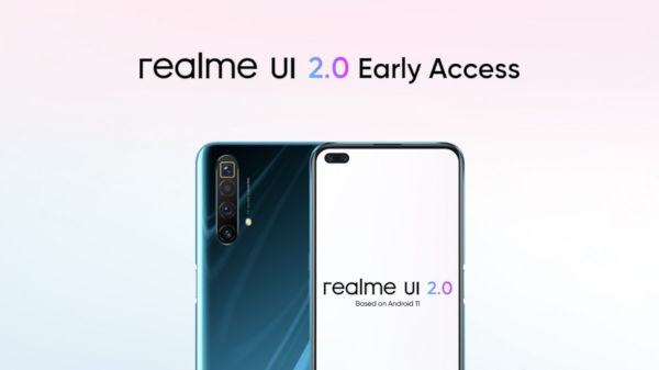 Realme UI 2.0 early access