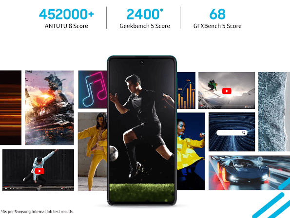 Samsung Galaxy F62 launched