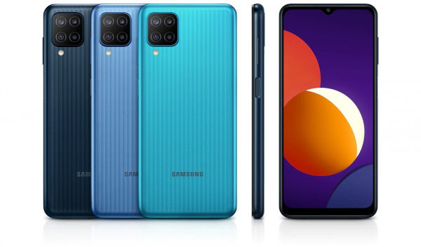 Samsung Galaxy M12 in colors