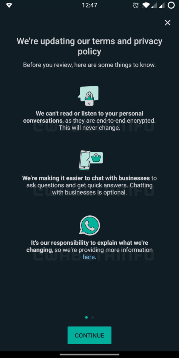 WhatsApp Still Commited To Its Privacy Policy Terms
