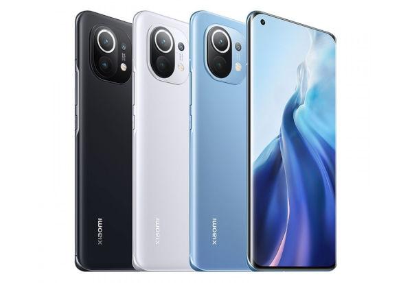 Xiaomi Mi 11 in colors