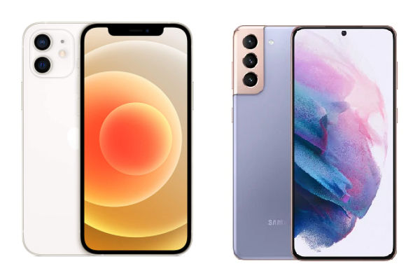 iPhone 12 vs Samsung Galaxy S21