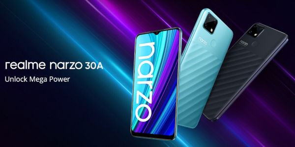 realme Narzo 30A launched
