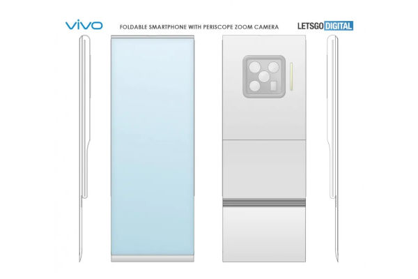 vivo Patents A Foldable Phone With An Outward Folding Screen 2
