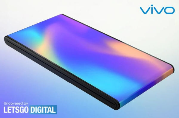 vivo Patents A Foldable Phone With An Outward Folding Screen