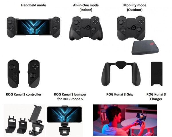 Asus ROG Phone 5 accessories