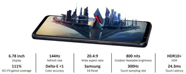 Asus ROG Phone 5 features