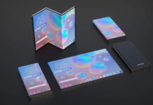 First Samsung Dual Fold Smartphone Revealed 1
