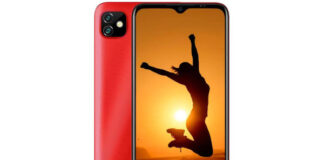 Gionee Max Pro in red