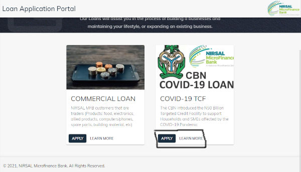 How To Apply For Covid 19 Loan 2021